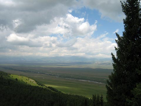 Долина реки Шалкудысу