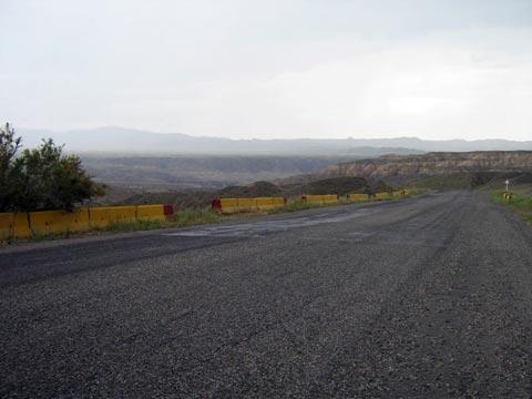 Дорога через Чарын